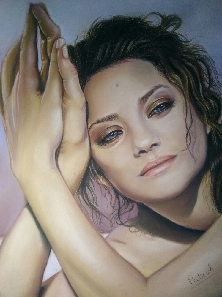 Marion Cotillard by Sculptif